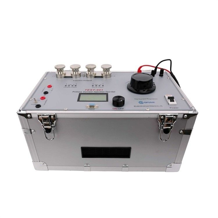 18KG Primary Current Injection Test Set 0-200A With CT Ratio Test And Timer