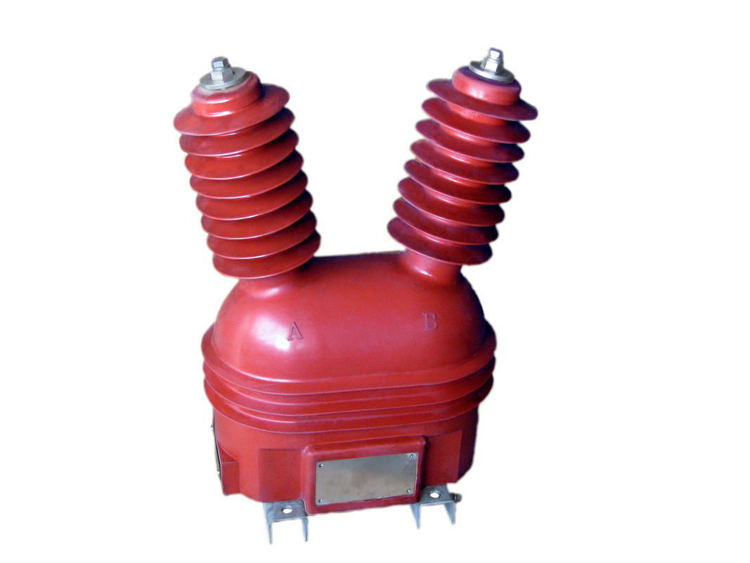Epoxy Resin Silicon Rubber Outdoor Voltage Transformer 10kv For Power Supply