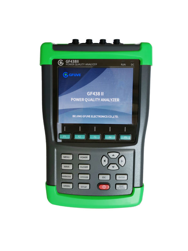 GFUVE Handheld Three Phase Power Quality Analyser High Precision 32G Memory